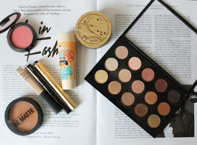 February Beauty Favorites, City Color, MAC, YSL Touche Eclat, L'Oreal, tarte, Benefit