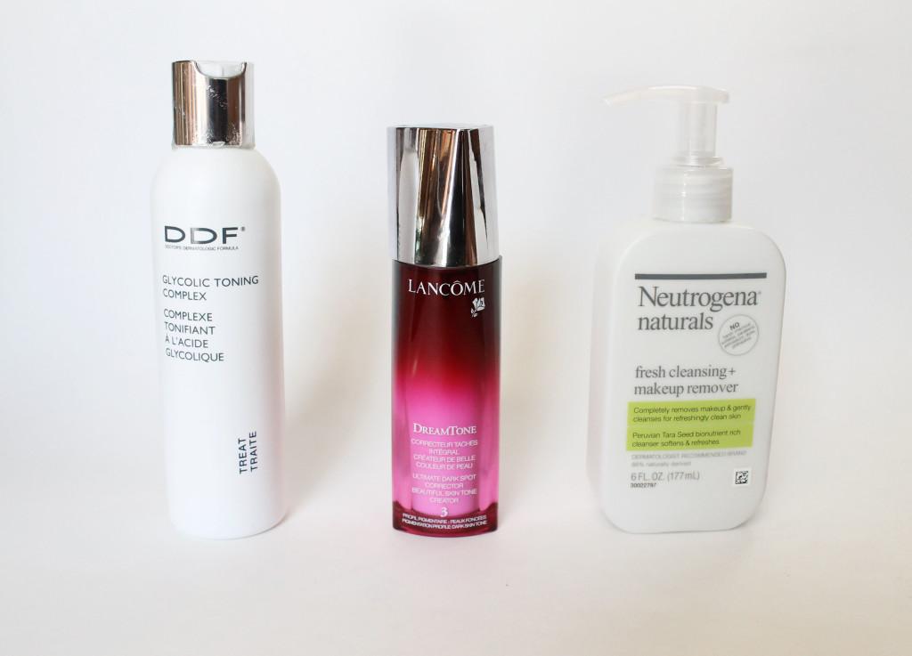 DDF Lancome Neutrogena Naturals