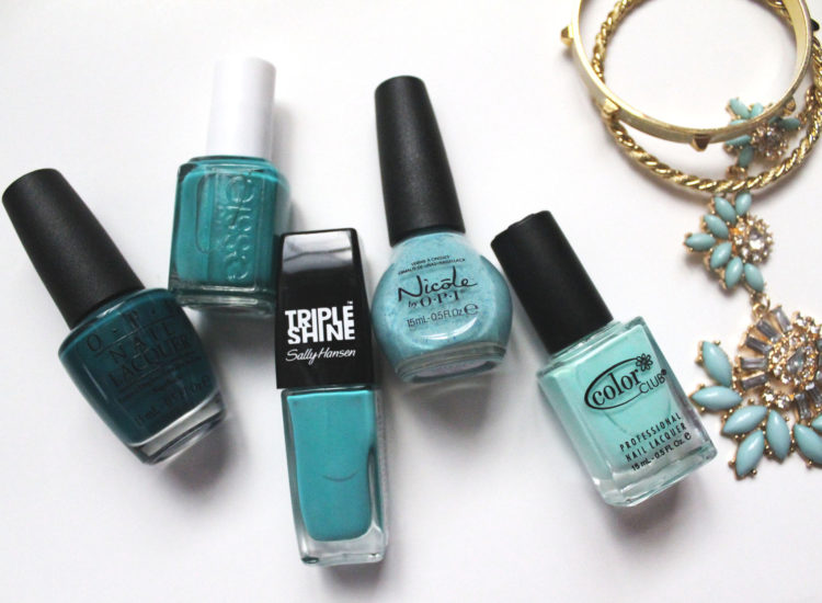 Teal Nail Polishes