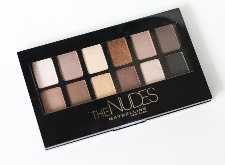 Maybelline The Nudes Palette Swatches Review