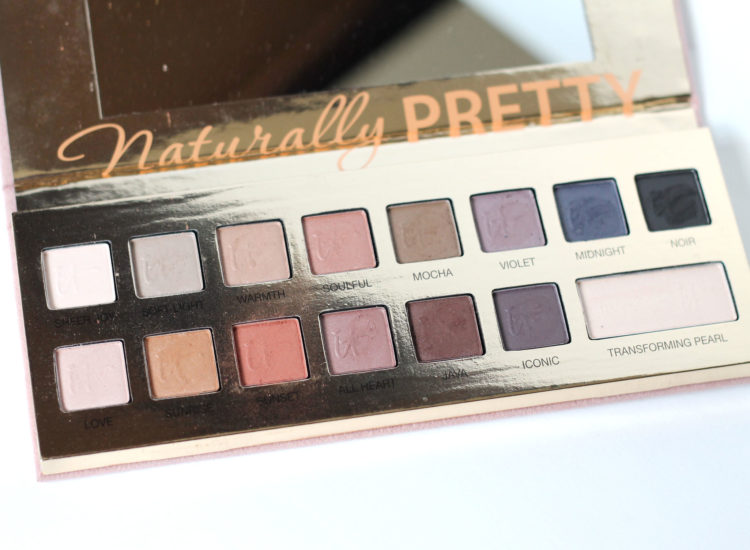 IT COSMETICS Naturally Pretty Vol 1 Matte Luxe Transforming Eye Shadow Palette Review