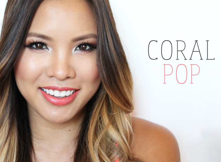 Beauty Vanity | Coral Pop