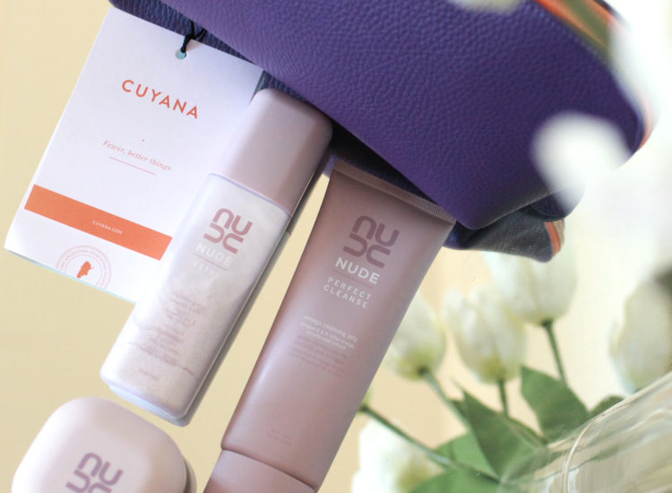 cuyana nude skincare fewer better beauty event san francisco beauty blog