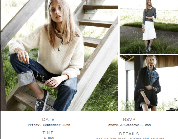 Madewell Santana Row Event