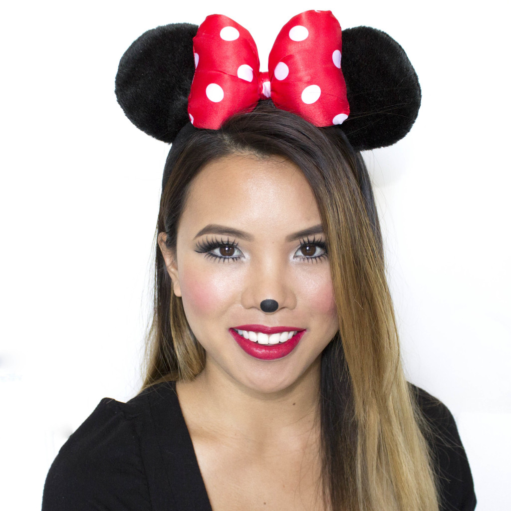 Minnie Mouse Nose Tutorial Minnie Mouse Makeup Tutorial