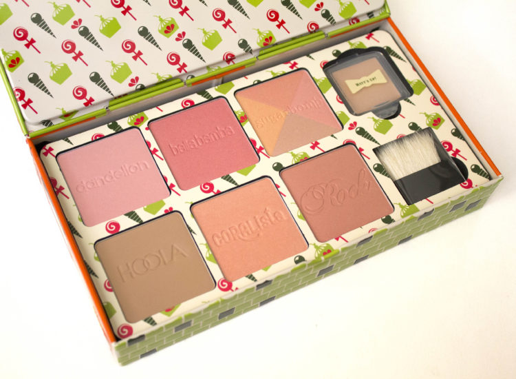 Benefit Cheeky Sweet Spot Box O' Blushes Review Swatches