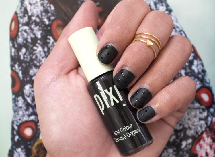 Pixi Nail Colour Matte Black
