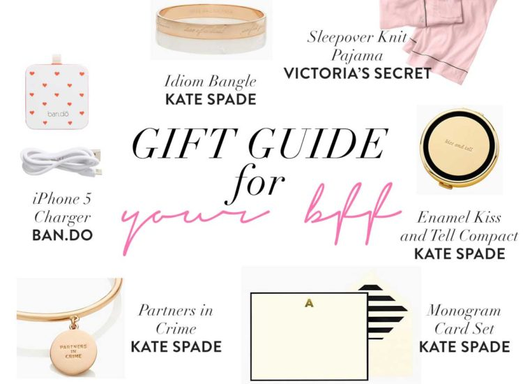 Holiday Best Friend Gift Guide