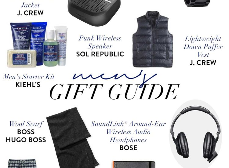 Men Holiday Gift Guide J.Crew Nordstrom