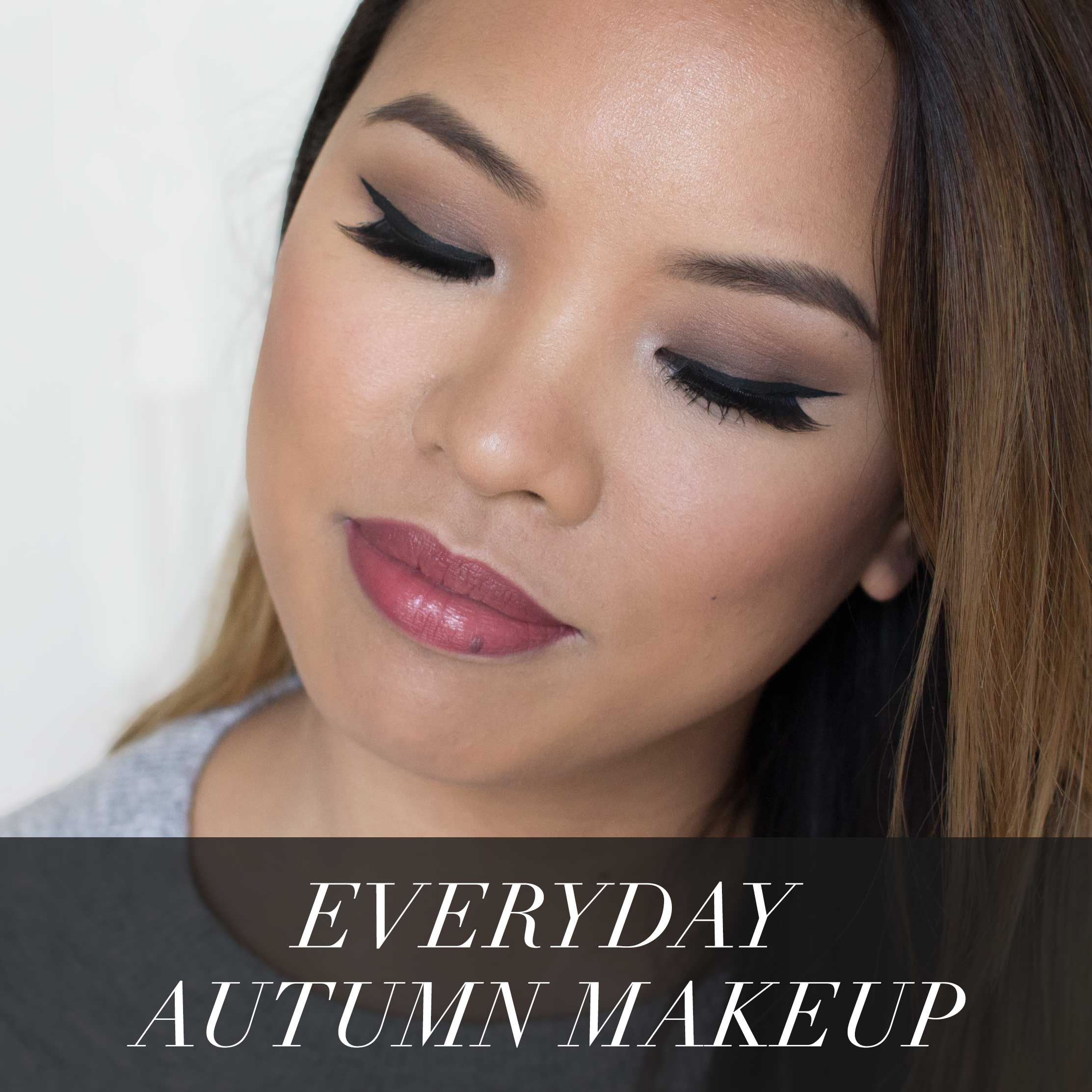 yaby fall makeup tutorial
