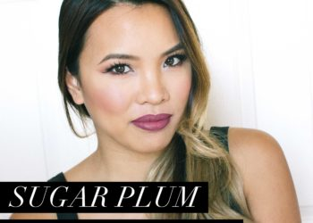 Plum Holiday Party Makeup