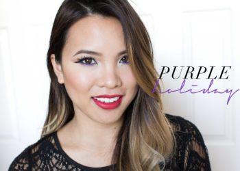 Purple Holiday Makeup