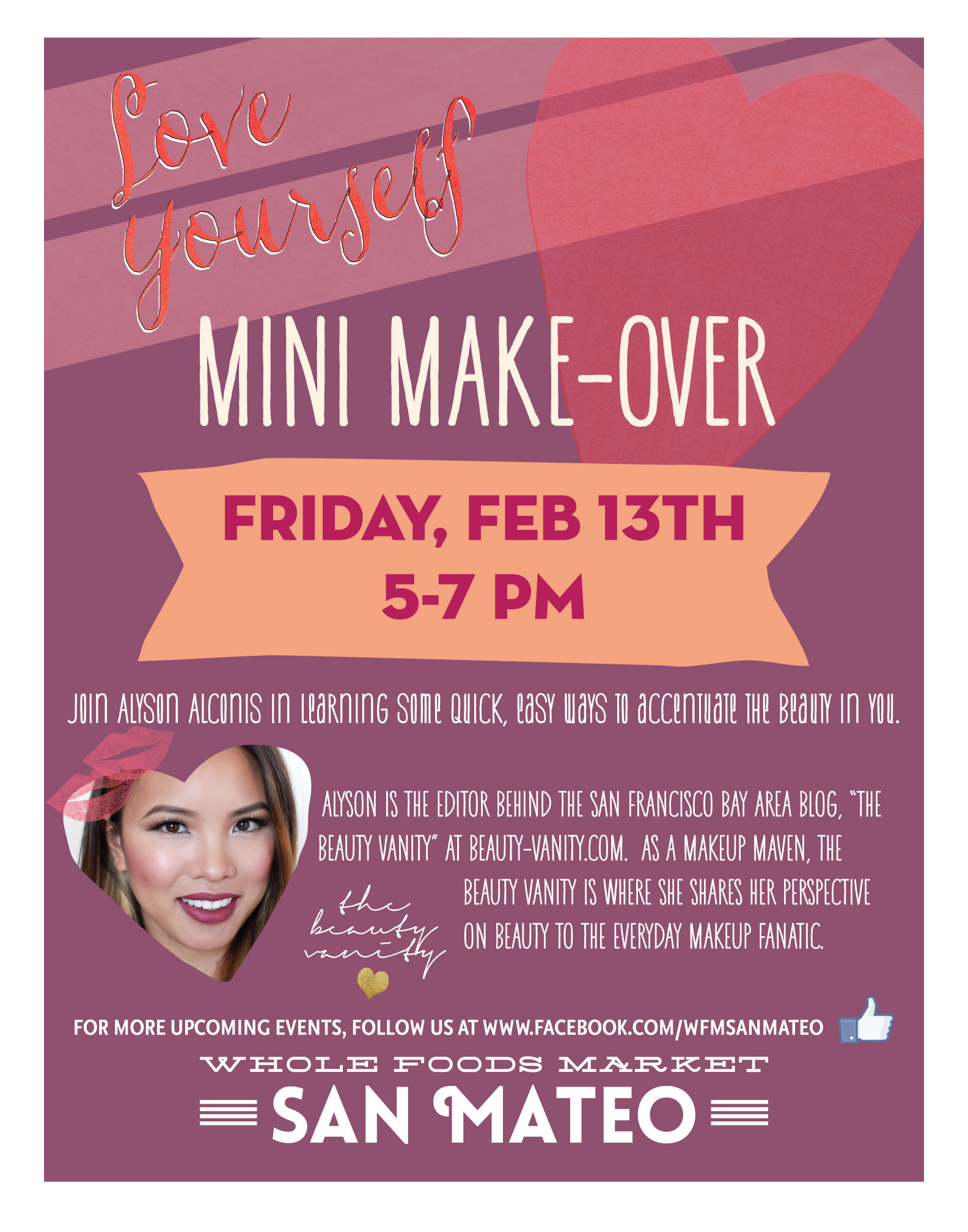 Whole Foods San Mateo Beauty Event with The Beauty Vanity