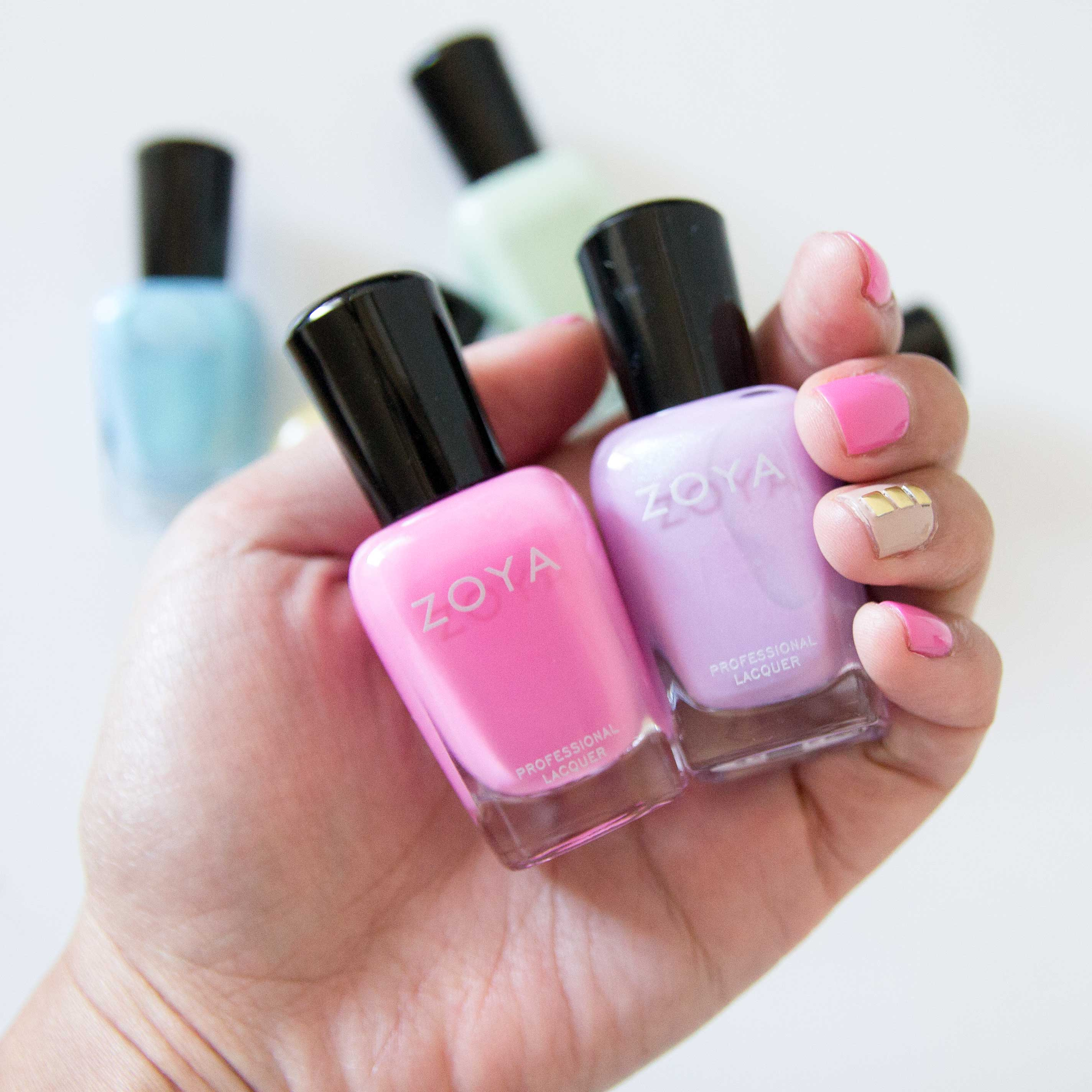 Zoya Delight Spring 2015 Review Swatches