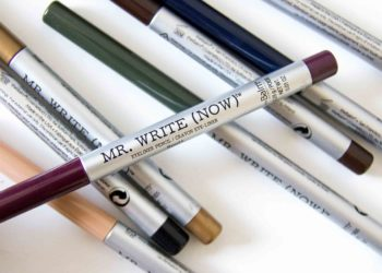 theBalm Mr. Write (Now) Swatches Review