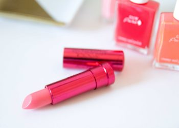 100% Pure Lipstick Melon Review Swatches