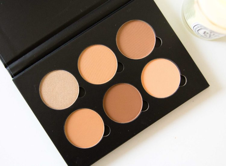 Anastasia Contour Kit Medium Tan Review Swatches