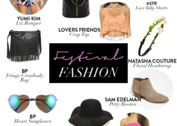 The Beauty Vanity | Festival Fashion Packing List