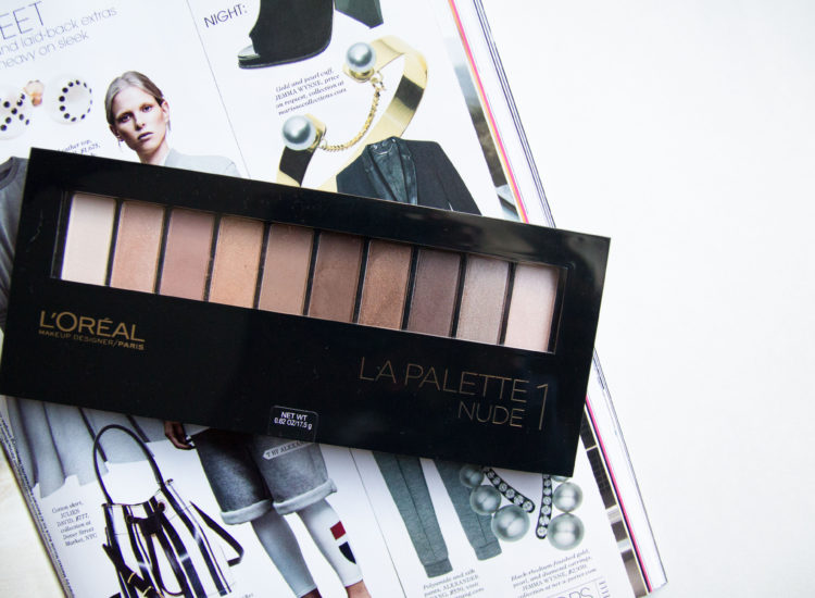 L'oreal La Palette Nude 1 Review Swatches