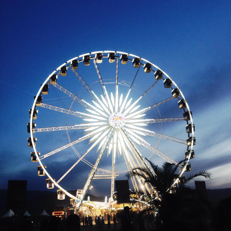 The Beauty Vanity | Coachella Ferris Wheel
