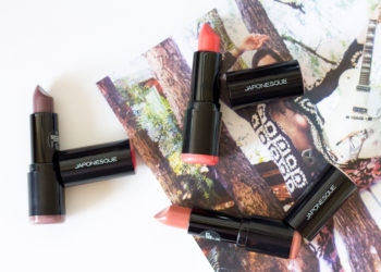 Japonesque Pro Performance Lipstick Swatches Review