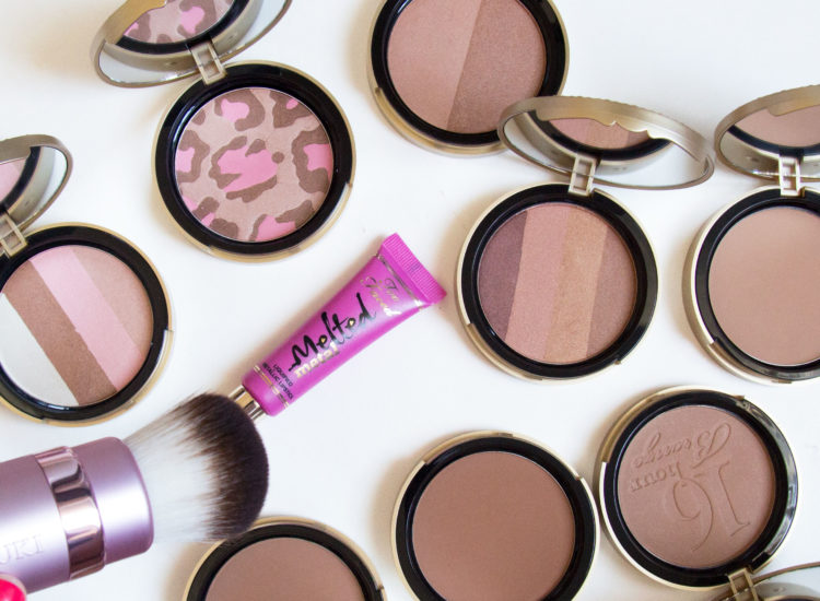 Too Faced Ultimate Bronze Wardrobe Swatches Review