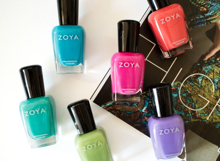 Zoya Summer 2015 Island Fun Swatches Review