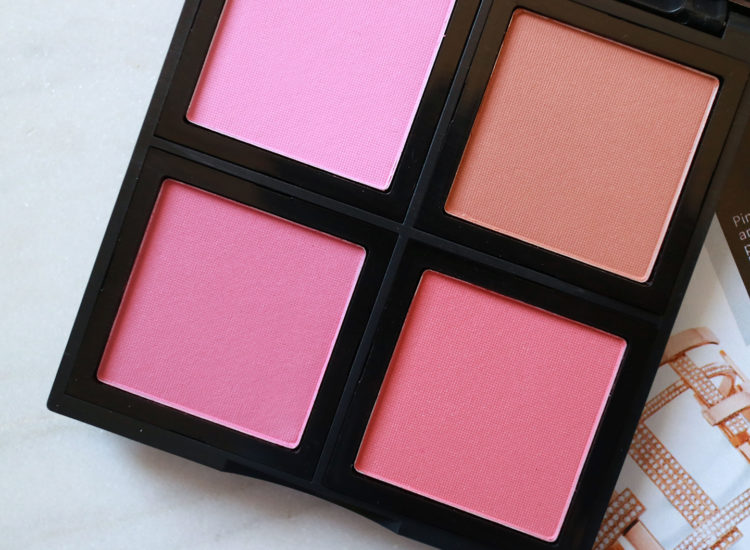 ELF Studio Blush Palette Swatches Review
