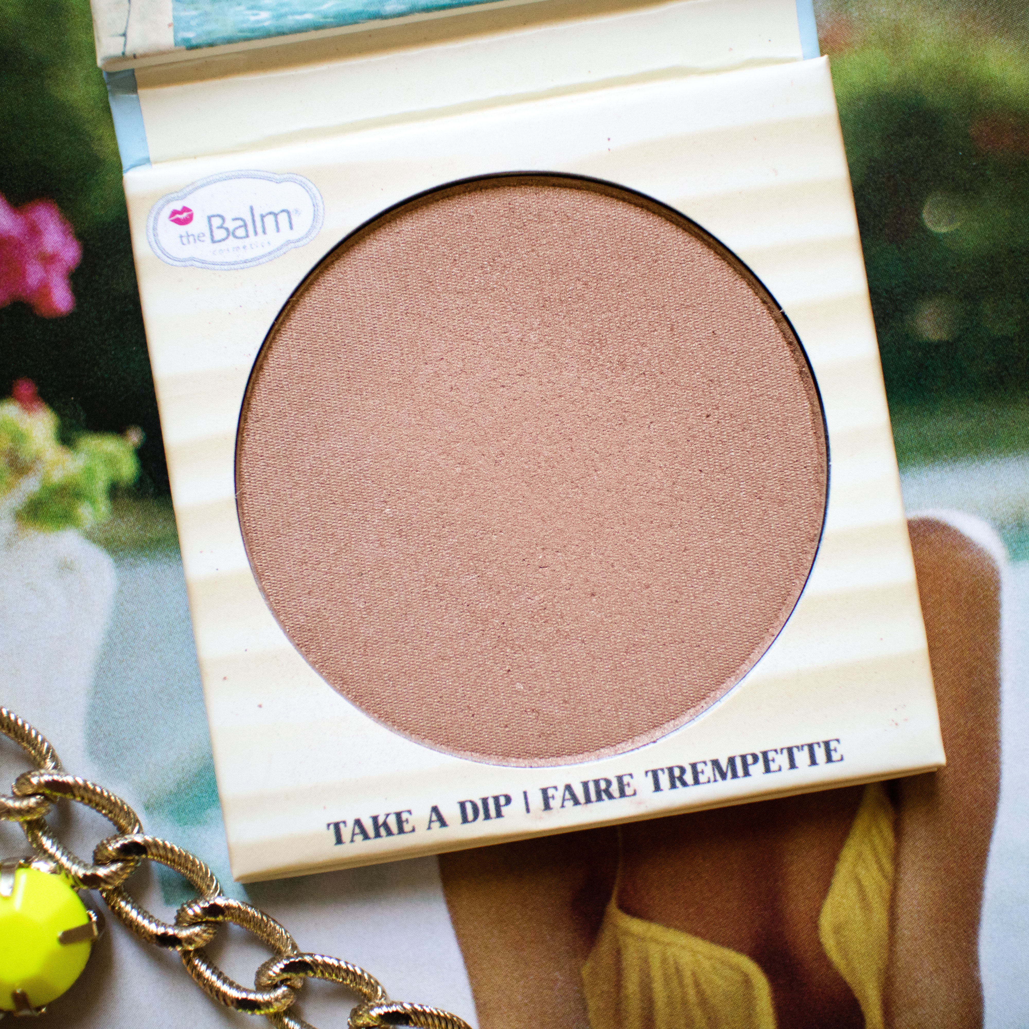 theBalm Balm Desert Bronzer Swatches Review