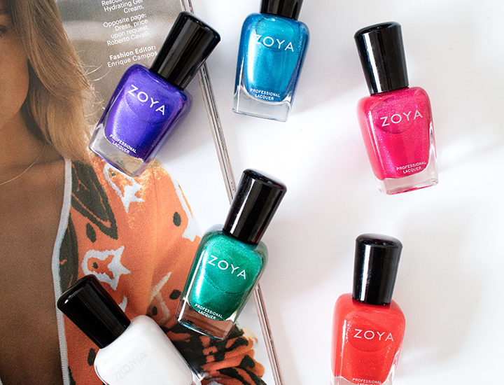 Zoya Summer 2015 Paradise Sun Collection Swatches Review