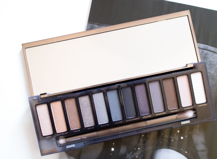 The Beauty Vanity | Urban Decay Naked Smoky Palette Swatches Review