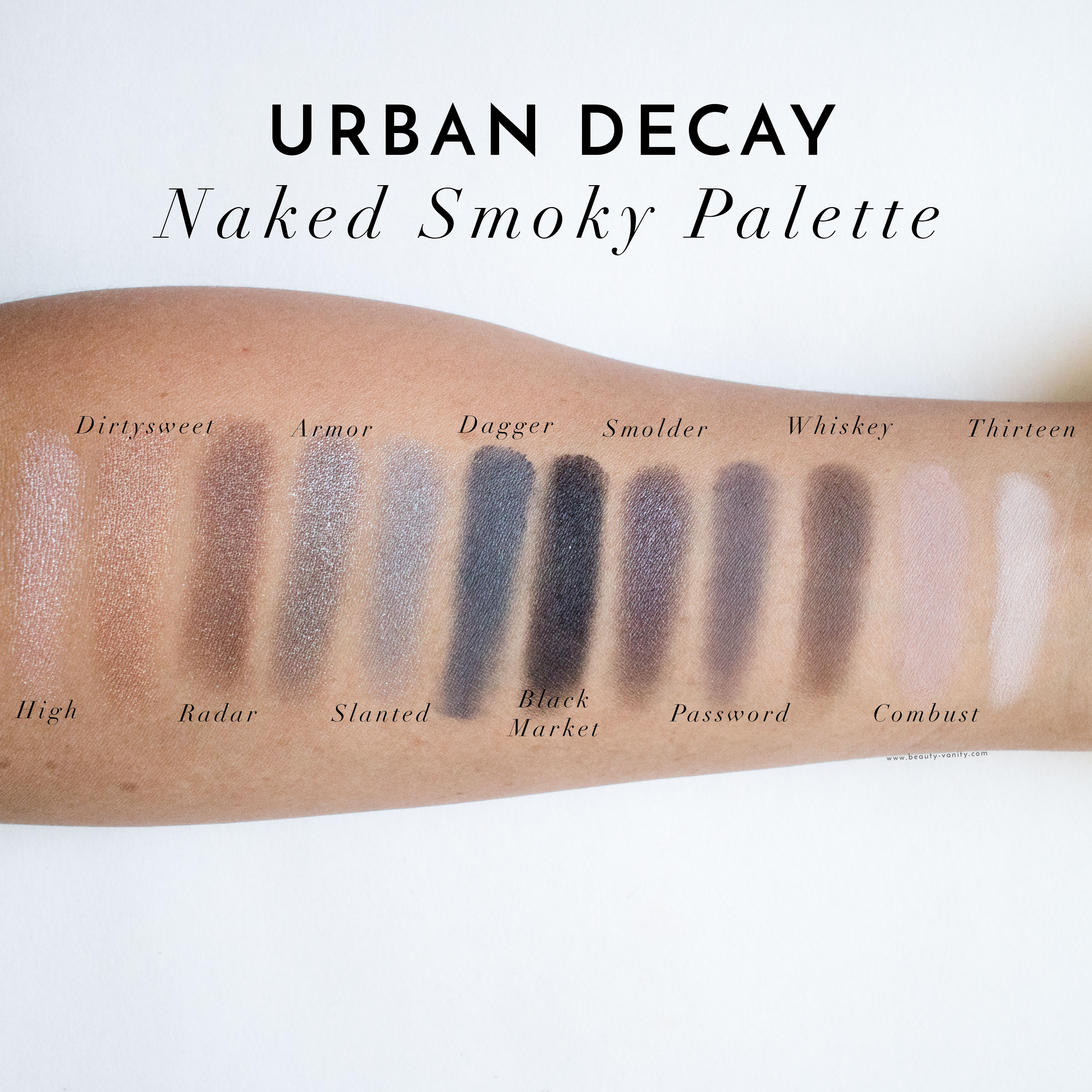 Smoked Eyeshadow Palette by Urban Decay #16