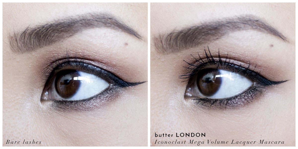 butter LONDON Iconoclast Mascara Review - The Beauty Vanity | A San Francisco Beauty Blog