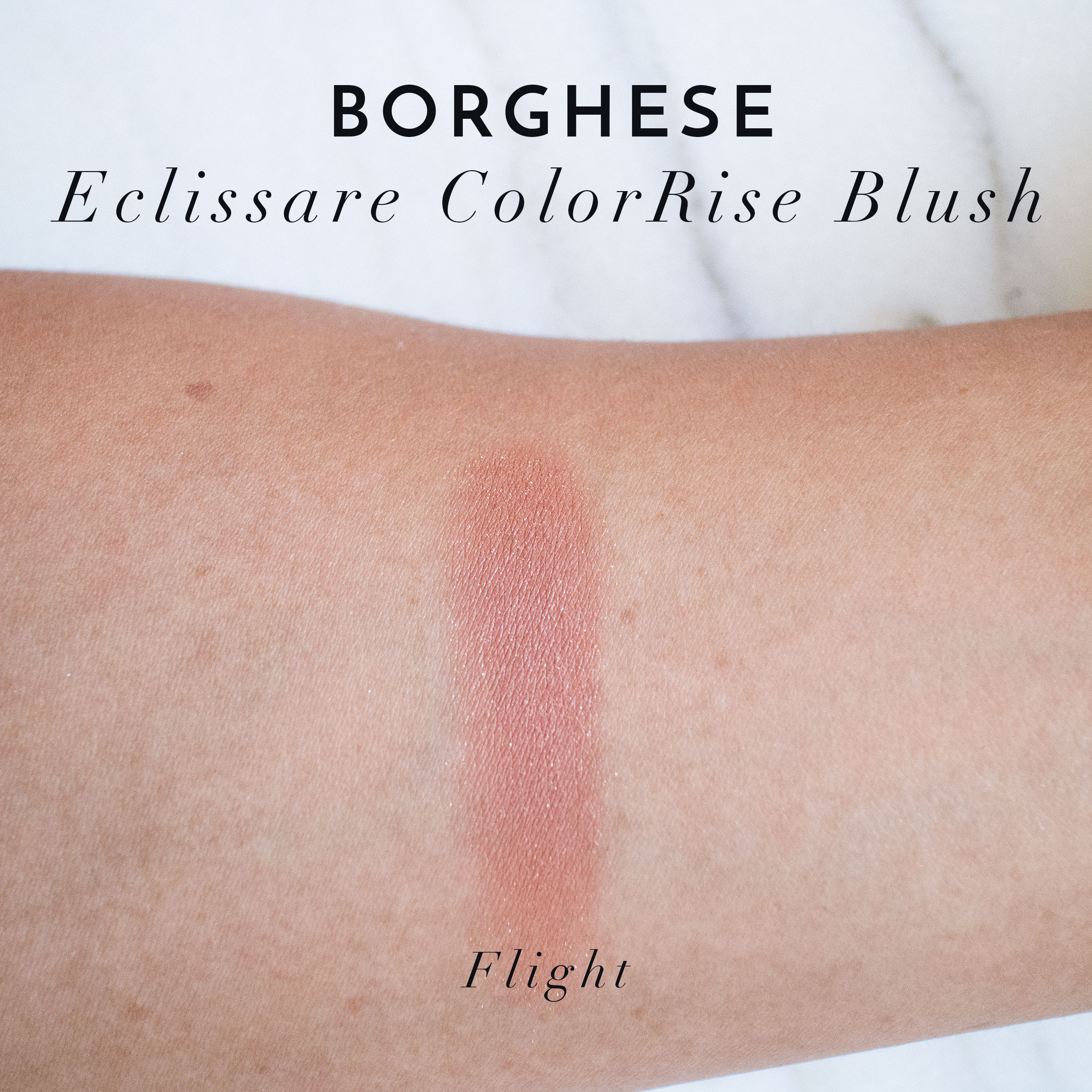 The Beauty Vanity | Borghese Summer 2015 Eclissare ColorRise Blush Flight Swatches Review