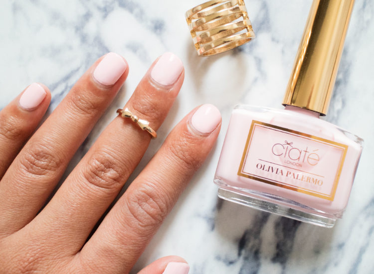 The Beauty Vanity | Ciate Olivia Palermo Nail Polish Sundays Swatches Review