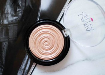 The Beauty Vanity | Laura Geller Baked Gelato Highlighter Gilded Honey Swatches Review
