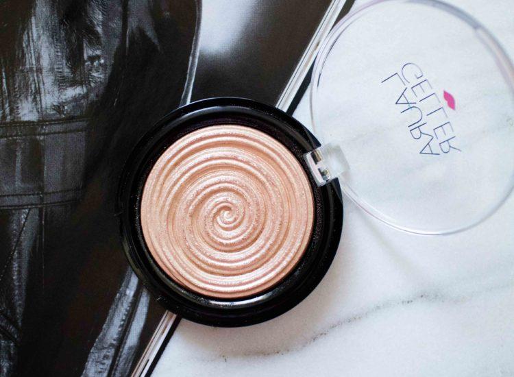 The Beauty Vanity | Laura Geller Baked Gelato Highlighter Gilded Honey Swatches Review