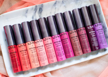 The Beauty Vanity | NYX Intense Butter Gloss Swatches Review