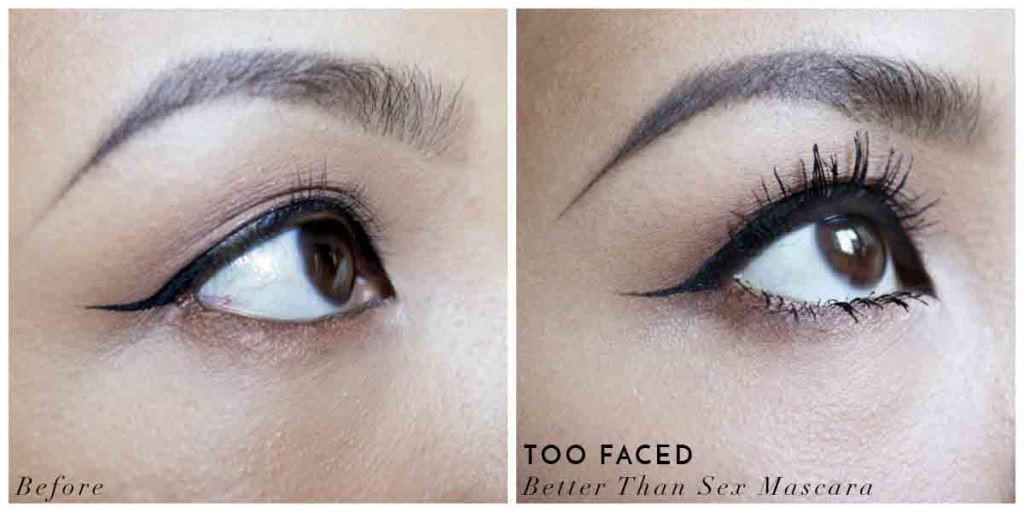 Better than sex mascara before and after