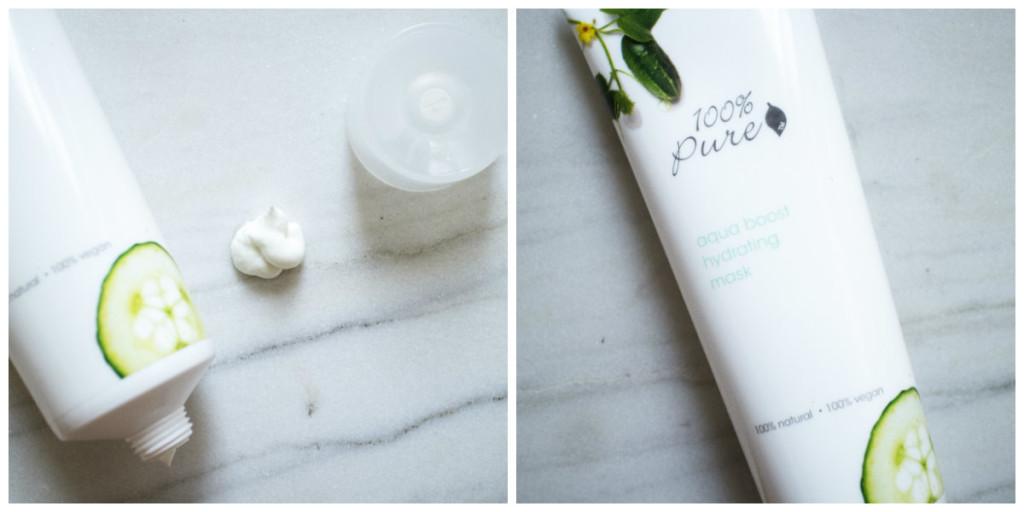 The Beauty Vanity | 100 Pure Aqua Boost Mask Review