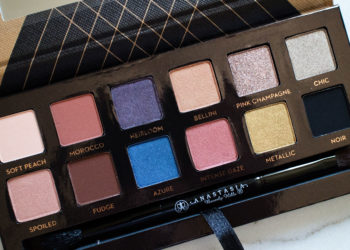 The Beauty Vanity | Anastasia Shadow Couture World Traveler Palette Swatches Review