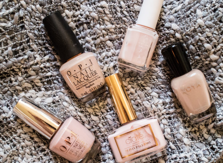 The Beauty Vanity | Best Nude Nail Polishes for Tan Skin Tone