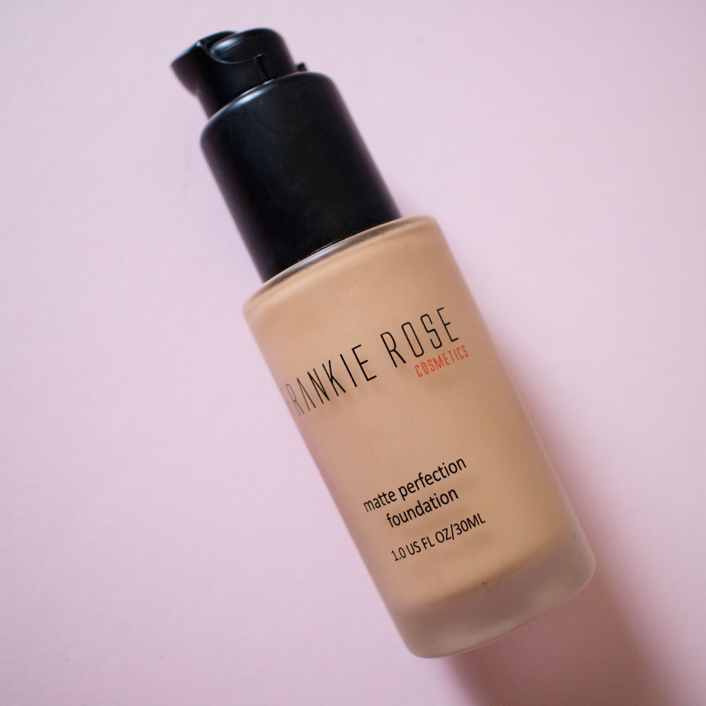 The Beauty Vanity | Frankie Rose Cosmetics Matte Perfection Foundation Review Swatches