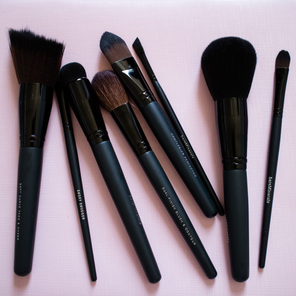 The Beauty Vanity | bareMinerals Makeup Brushes Review