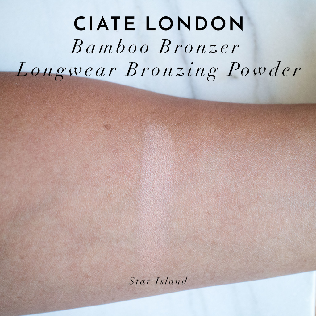 The Beauty Vanity | Ciate London Bamboo Bronzer Star Island Review Swatches