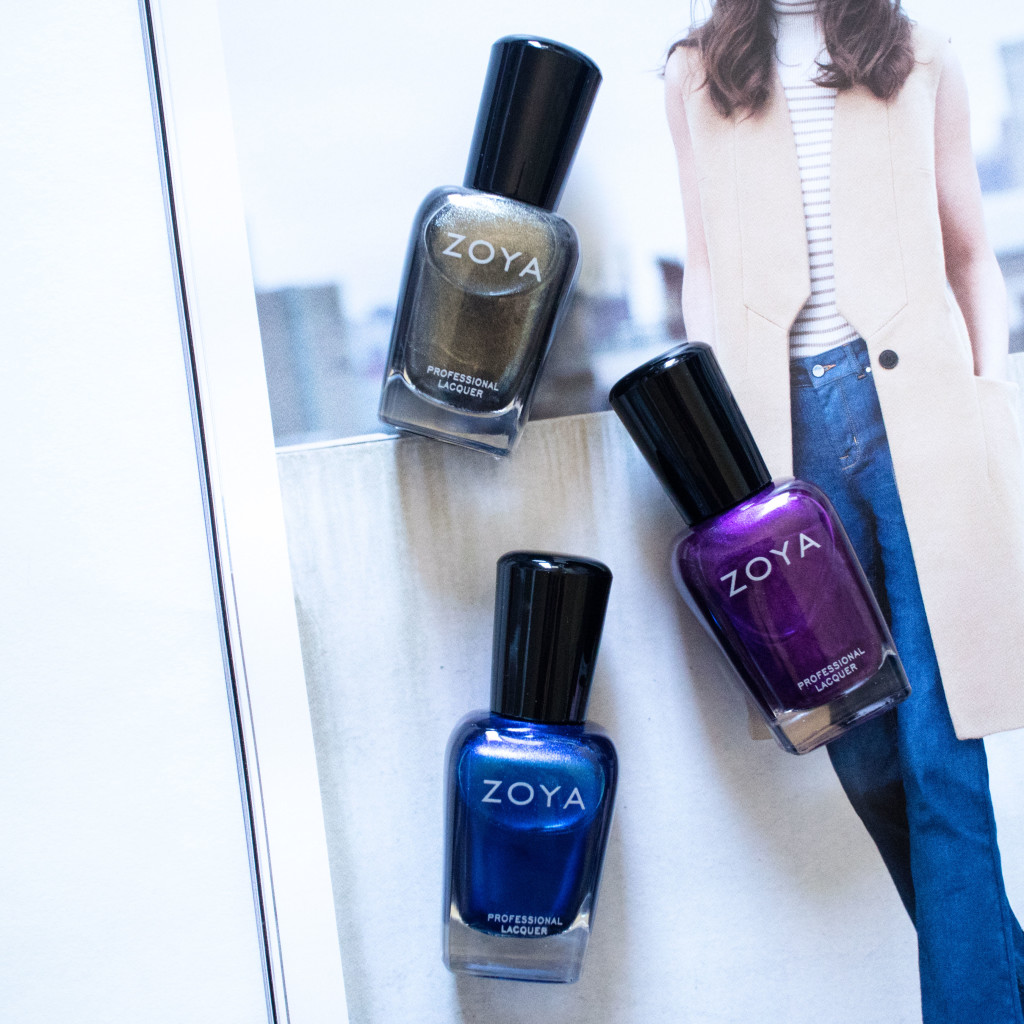 The Beauty Vanity | Zoya Fall 2015 Flair Collection Swatches Review