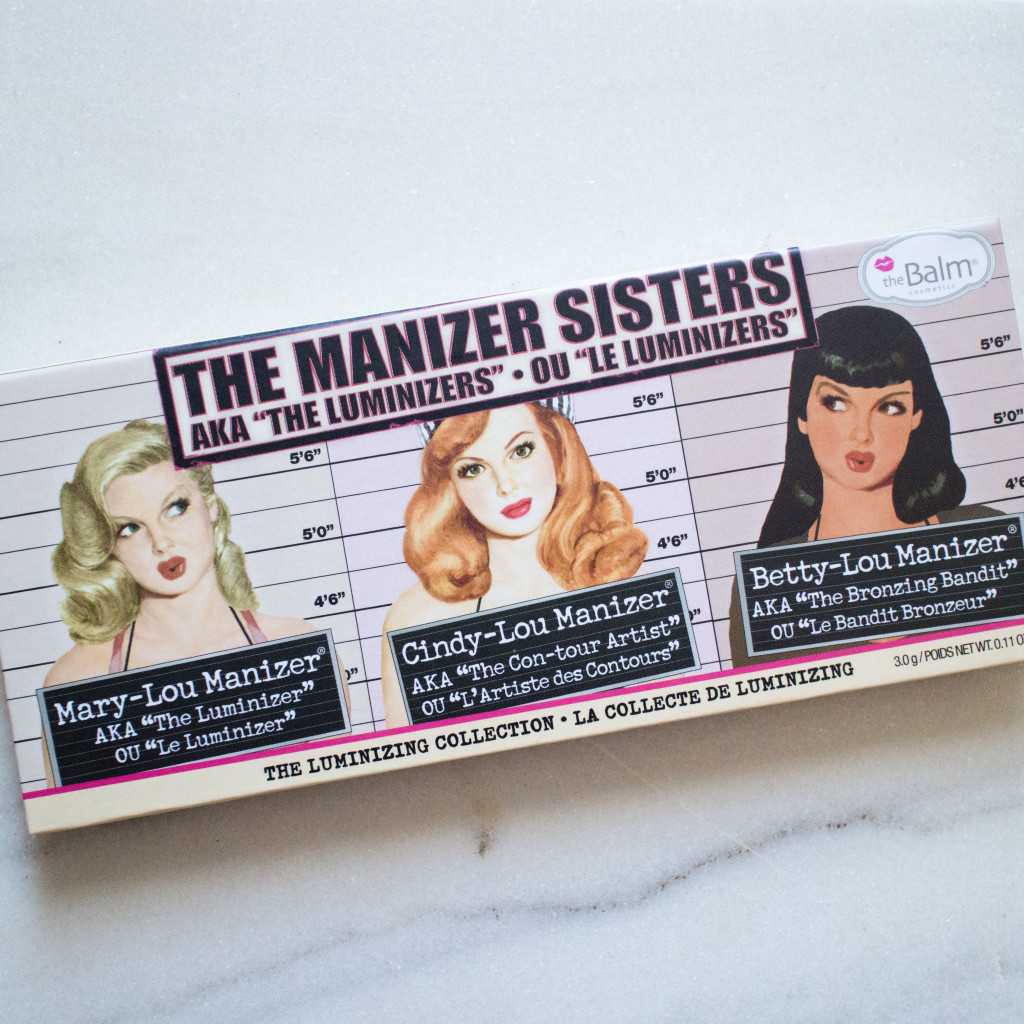The Beauty Vanity | theBalm the Manizer Sisters Palette Swatches Review