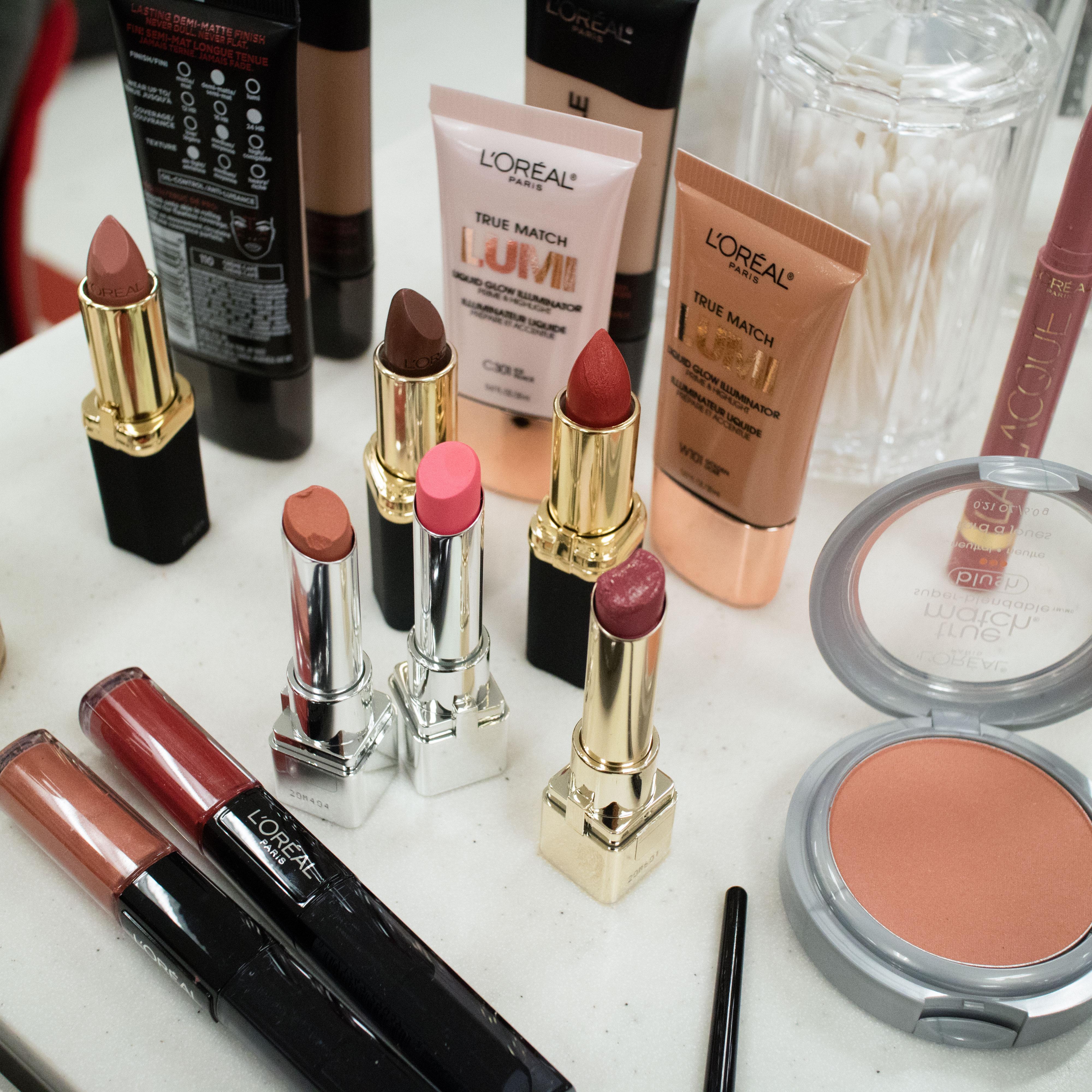 Target beauty u fall trend makeover for Target makeup vanity