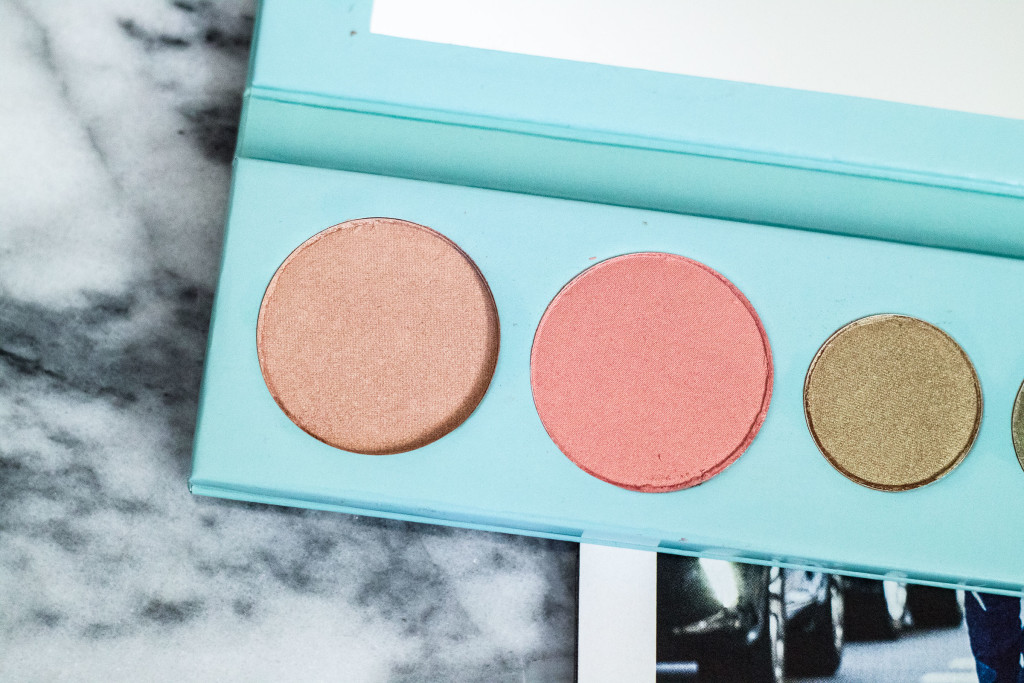 100% Pure Mermaid Palette Swatches Review