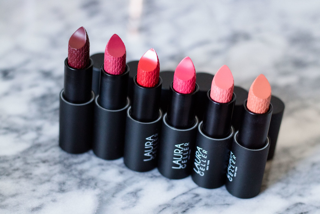 The Beauty Vanity | Laura Geller Iconic Baked Sculpting Lipstick Review Swatches